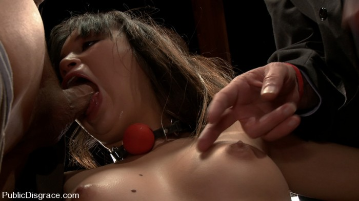 Sasha Yung Sucking Cock